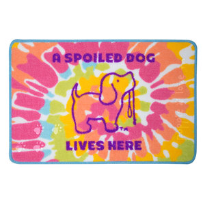 "Spoiled by Puppie Love - 27.5"" x 17.75""   Floor Mat"