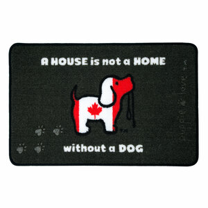 "Canada by Puppie Love - 27.5"" x 17.75""   Floor Mat"