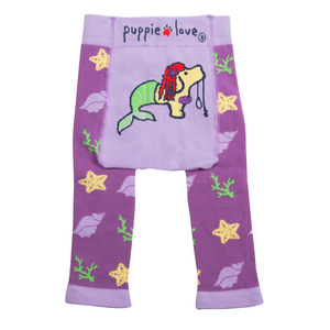 Mermaid by Puppie Love - 6 - 12M Leggings