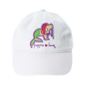 "Mermaid by Puppie Love - 18"" to 19"" Adjustable Baby Hat (0-12 Months)"
