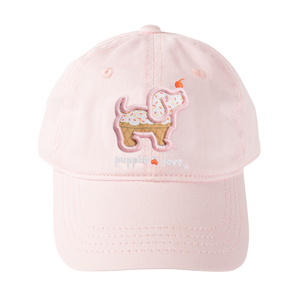 Ice Cream by Puppie Love - Pink Adjustable Hat