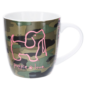 Camo by Puppie Love - 17 oz. Cup