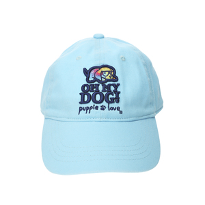 Oh My Dog! by Puppie Love - Light Blue Adjustable Hat