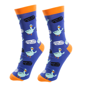 Duck This by Fugly Friends - S/M Unisex Cotton Blend Sock