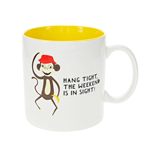 Monkey by Fugly Friends - 17 oz Mug