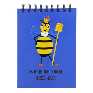 "Beeswax by Fugly Friends - 5"" X 7"" Notepad"