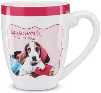 "Housework by Shaded Pink - 4.75"" Mug"