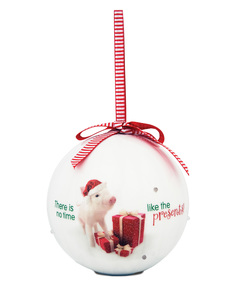 Presents by Shaded Pink - 100mm Blinking Ornament