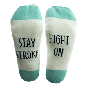 Stay Strong by Faith Hope and Healing - S/M Unisex Sock