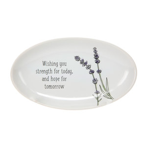 "Strength for Today by Faith Hope and Healing - 5.5"" x 3.25"" Keepsake Dish"