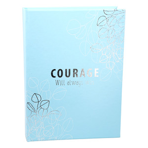 "Courage by Faith Hope and Healing - 6.25"" x 8.75"" Inspiration Journal"