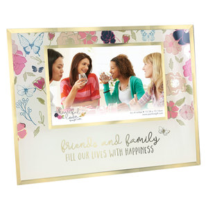"Friends and Family by Heartful Love - 9.25"" x 7.25"" Frame (Holds 6"" x 4"" Photo)"
