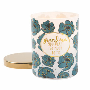 Grandma by Heartful Love - 7oz 100% Soy Wax Candle Scent: Fresh Cotton
