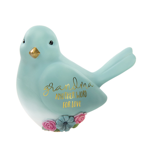 "Grandma by Heartful Love - 3.5"" Bird Figurine"