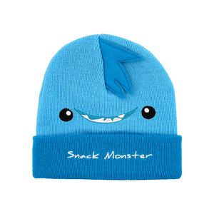 Blue Snack Monster by Monster Munchkins - One Size Fits All Baby Hat