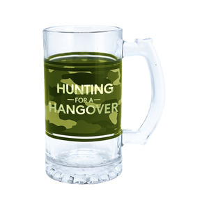 Hunting by Camo Community - 16 oz Glass Stein