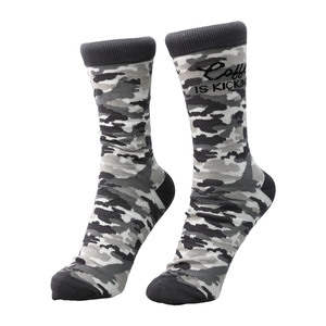 Coffee by Camo Community - S-M Cotton Blend Sock