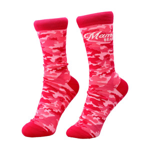 Mama Bear by Camo Community - S-M Cotton Blend Sock