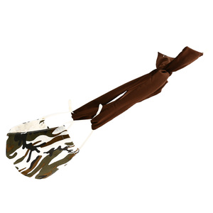 "Dark Chocolate - Mask Ties-Set of 2 by Tuso - 48"" x 1.25"""