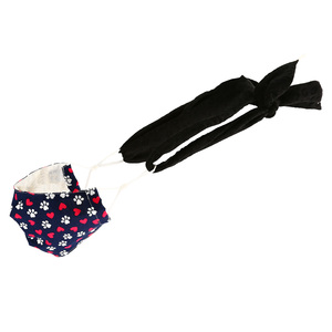 "Black Beauty - Mask Ties-Set of 2 by Tuso - 48"" x 2.5"""