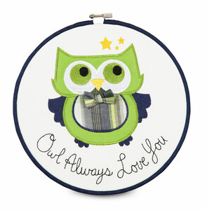 "Grasshopper by Itty Bitty & Pretty - Owl Always Love You 9.5"" Wall Covering"
