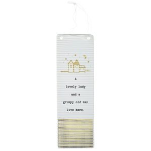"Lovely Lady by Thoughtful Words - 7.25"" Hanging Plaque"