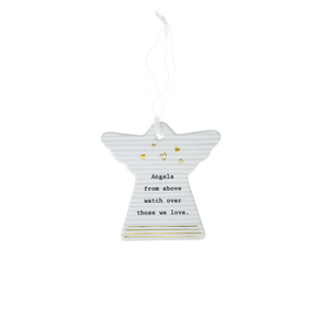 "Angel Love by Thoughtful Words - 3"" Hanging Angel Plaque"