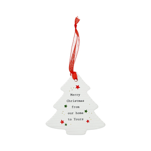 "Our Home by Thoughtful Words - 3.75"" Christmas Tree Ornament"