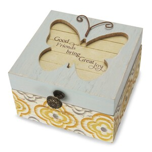 "Friend by Simple Spirits - 4.5"" Keepsake Box"