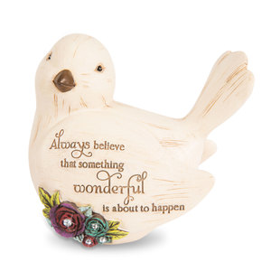 "Believe by Simple Spirits - 3.5"" Bird Figurine"
