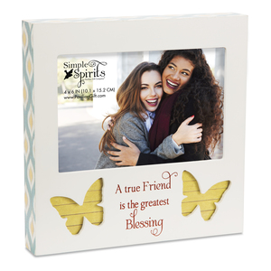 "Friend by Simple Spirits - 7"" Frame (Holds 6"" x 4"" Photo)"