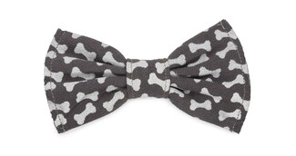 "Dog Bones Large  by Pavilion's Pets - 5""x3"" Canvas Pet Bow Tie"