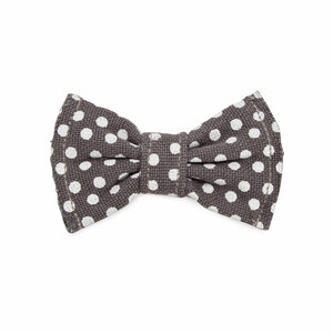 "Polka Dots Small by Pavilion's Pets - 3""x1.75"" Canvas Pet Bow Tie"