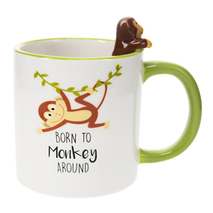 Monkey by Pavilion's Pets - 17 oz Mug