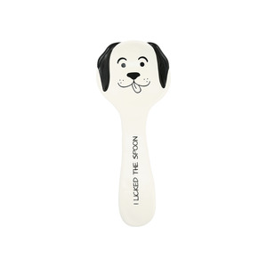 "Dog Licked the Spoon by Pavilion's Pets - 10"" Spoon Rest"