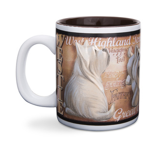 "Westie by My Pedigree Pals - 4"" - 12oz. Mug"
