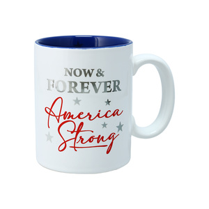 America Strong by Red, White, & Blue Crew - 18 oz Mug
