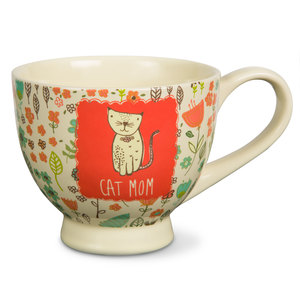 Cat Mom by A Mother's Love by Amylee Weeks - 17oz Cup