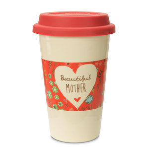 Mother by A Mother's Love by Amylee Weeks - 11oz Ceramic Travel Mug