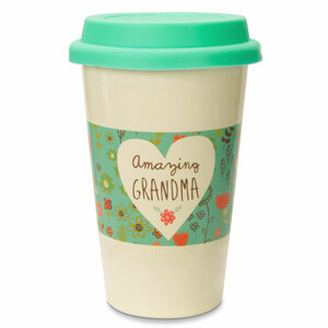 Grandma by A Mother's Love by Amylee Weeks - 11oz Ceramic Travel Mug