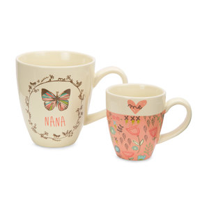 Nana & Me by A Mother's Love by Amylee Weeks - 12oz & 4oz Cup Set