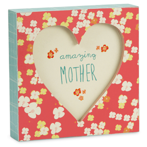 "Mother by A Mother's Love by Amylee Weeks - 4.5"" x 4.5"" Plaque"