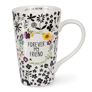 Friend by Love You More - 18 oz Latte Cup