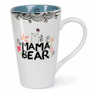 Mama Bear by Love You More - 18 oz Latte Cup
