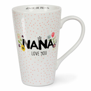Nana by Love You More - 18 oz Latte Cup