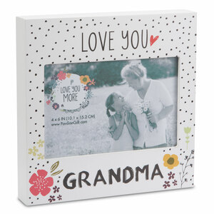 "Grandma by Love You More - 7"" Frame (Holds 6"" x 4"" Photo)"
