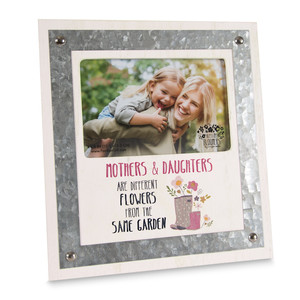 "Mothers & Daughters by Bless My Bloomers - 8.25"" x  9"" Frame (Holds 4"" x 6"" Photo)"