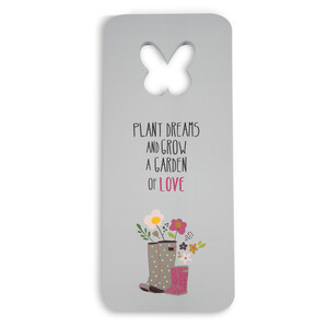 "Love by Bless My Bloomers - 7"" x 16""  Foam Kneeling Pad"