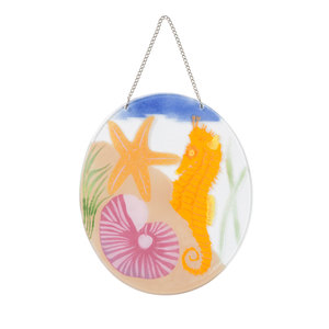 "Under the Sea by Fusion Art Glass - 7"" Sun Catcher"