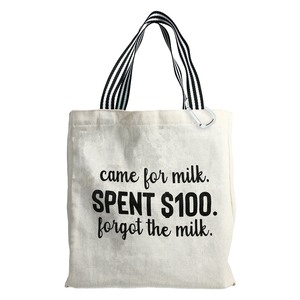 Came for Milk by Check Me Out - 100% Cotton Twill Gift Bag